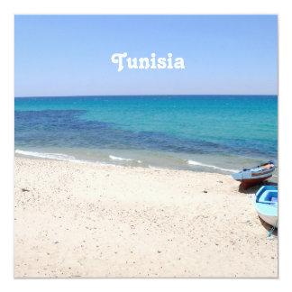 Túnez Invitación 13,3 Cm X 13,3cm