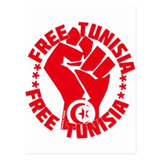 Túnez libre tarjetas postales