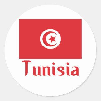 Túnez Etiquetas Redondas