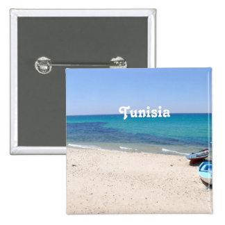 Túnez Pin Cuadrada 5 Cm