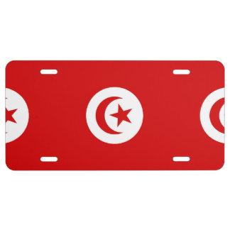 Túnez Placa De Matrícula