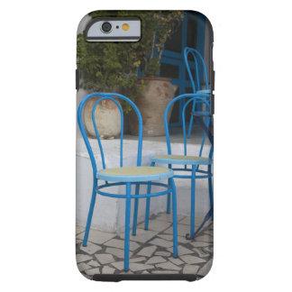 Túnez, Sidi Bou dijo, sillas del café Funda De iPhone 6 Tough