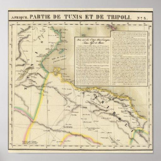 Túnez y Libia Poster