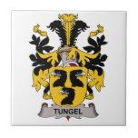 Tungel Family Crest Ceramic Tile