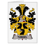 Tungel Family Crest Greeting Cards
