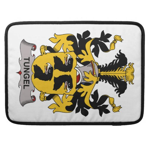 Tungel Family Crest Sleeves For MacBook Pro