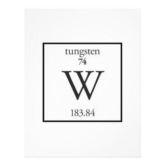 Tungsten Personalized Flyer