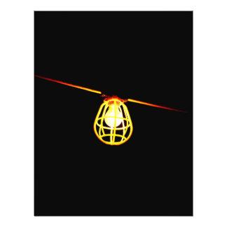 Tungsten light bulb flyer