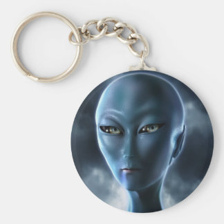 Tunia line basic round button keychain