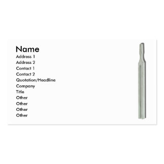 TuningForkCard, Name, Address 1, Address 2, Con... Business Card Template