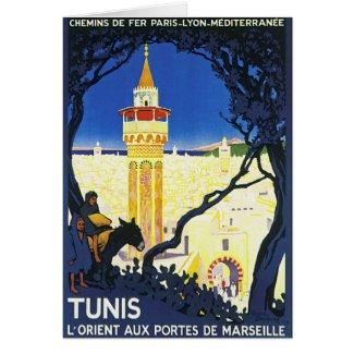 Tunis ~ L'Orient Aux Portes de Marseille card