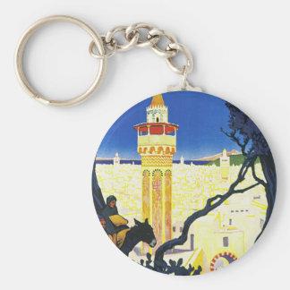 Tunis ~ L'Orient Aux Portes de Marseille Keychain