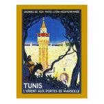 Tunis ~ L'Orient Aux Portes de Marseille Postcard