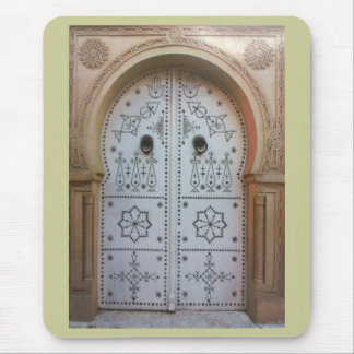 Tunis Traditional Door Mouse Pad