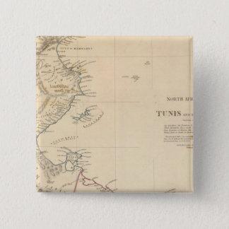 Tunis, Tripoli Pinback Button