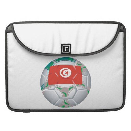 Tunisan Soccer Ball Sleeves For MacBooks