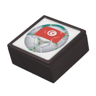 Tunisan Soccer Ball Premium Keepsake Boxes