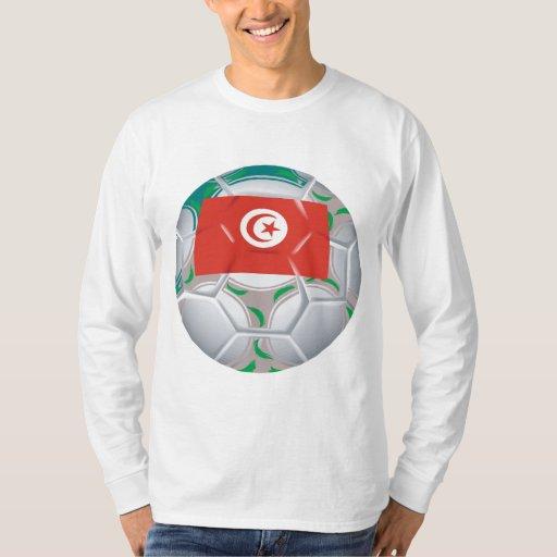 Tunisan Soccer Ball T Shirts