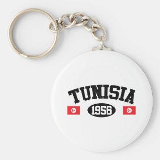 Tunisia 1956 keychain