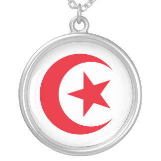 Tunisia 2 silver plated necklace
