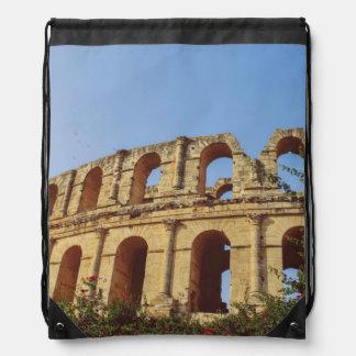 Tunisia amphitheatre backpack