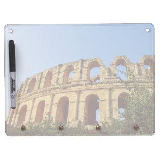 Tunisia amphitheatre dry erase board with keychain holder