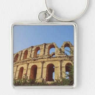 Tunisia amphitheatre key chains
