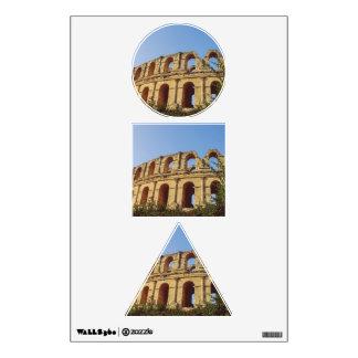 Tunisia amphitheatre wall stickers