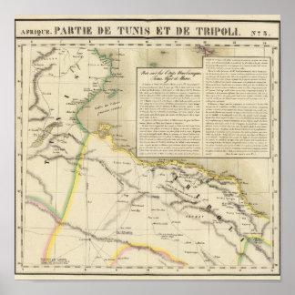 Tunisia and Libya Poster