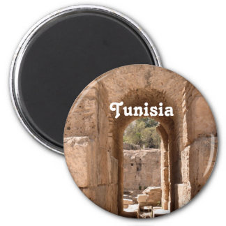 Tunisia Building Magnet