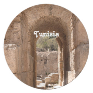 Tunisia Building Party Plate