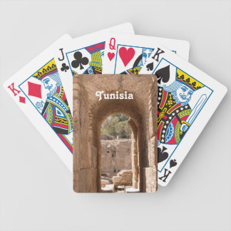 Tunisia Building Poker Cards