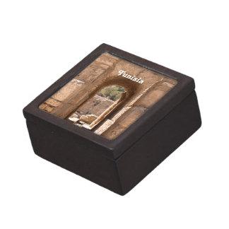 Tunisia Building Premium Keepsake Boxes