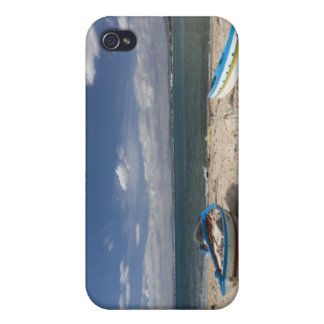 Tunisia, Cap Bon, Hammamet, fishing boats on iPhone 4/4S Covers