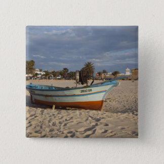 Tunisia, Cap Bon, Hammamet, waterfront, Kasbah Pinback Button