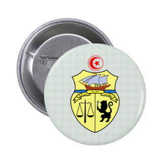 Tunisia Coat of Arms detail Pin