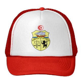Tunisia Coat of Arms detail Trucker Hat