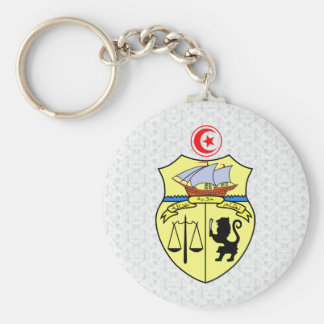 Tunisia Coat of Arms detail Keychain