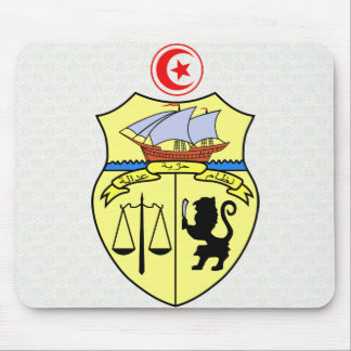 Tunisia Coat of Arms detail Mouse Pad