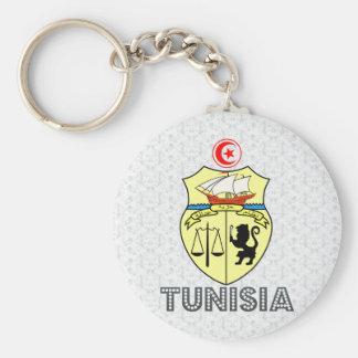 Tunisia Coat of Arms Keychain