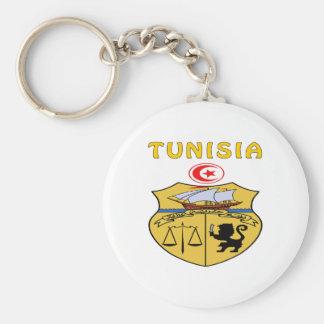 Tunisia Coat Of Arms Keychain