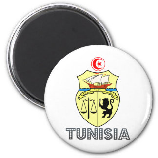 Tunisia Coat of Arms Magnets