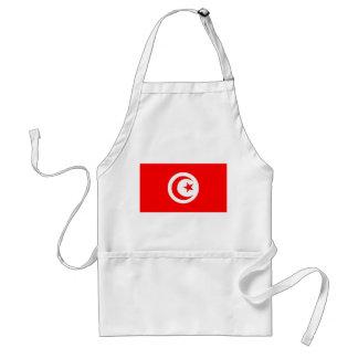 tunisia country flag name text symbol adult apron