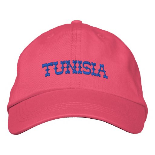 TUNISIA CUSTOM EMBROIDERED BASEBALL CAP