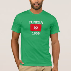 Tunisia Custom Flag Shirt