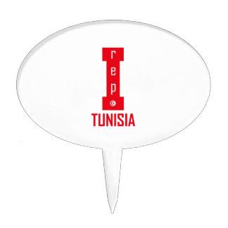 tunisia design cake topper
