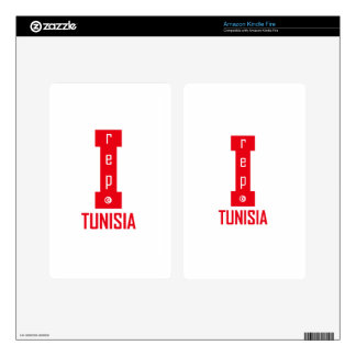 tunisia design decal for kindle fire
