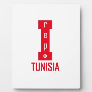 tunisia design plaque