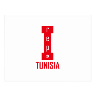tunisia design postcard