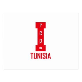 tunisia design postcard